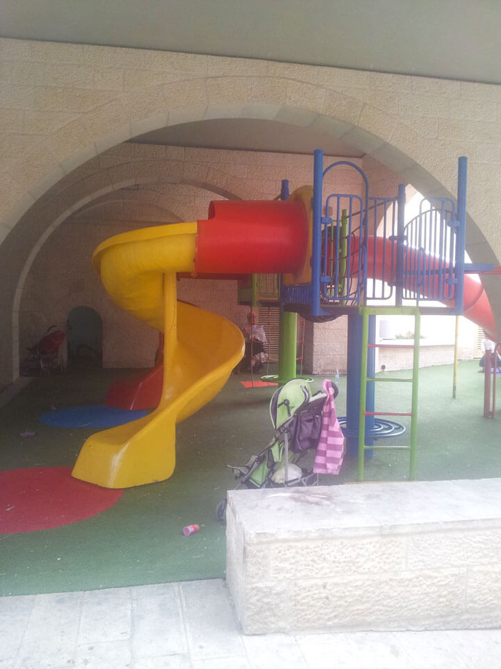 Kindergarten in Hebron