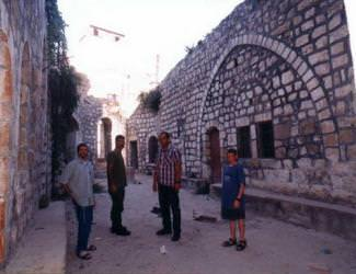 (Photo: Courtyard of the Tomb of Abner Ben Ner complex. Source: Shavei Hebron)