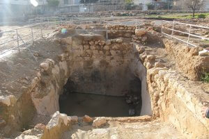 Ancient Mikveh at Tel Hebron
