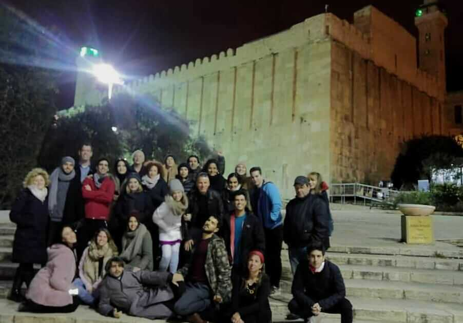 Habima Theater Troupe visits Hebron