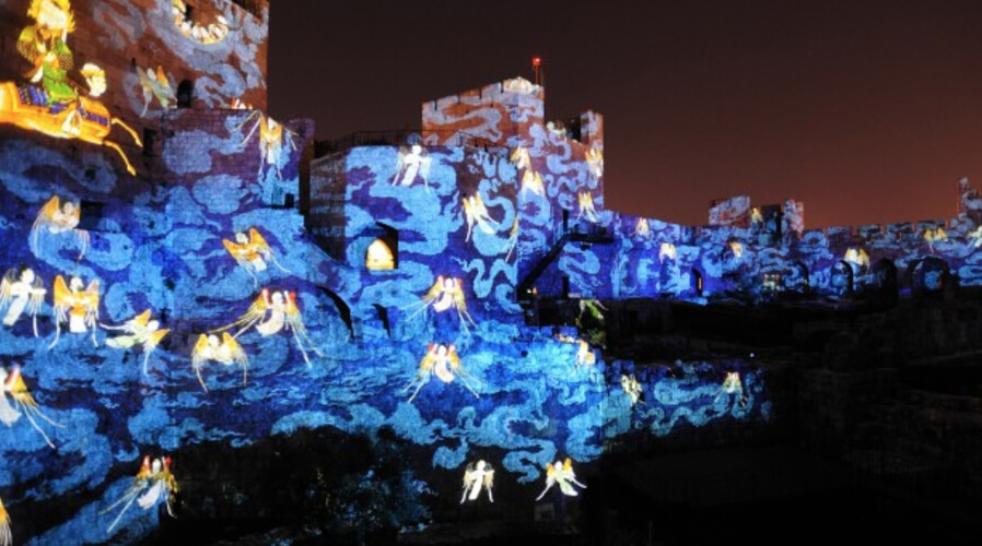 Sound and Light Show at the Tower of David