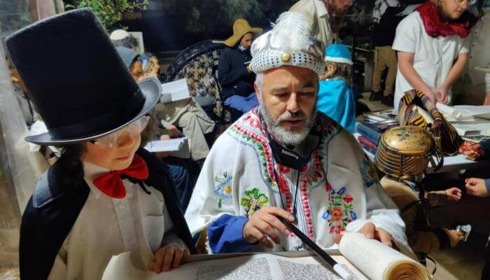 In Hebron, Purim is celebrated for two days. Here's why.