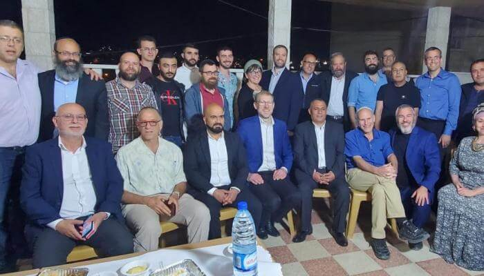 """""""Open Iftar"""" united Muslims and Jews in Hebron"""